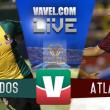 Resultado y goles del Venados 1-1 Atlante de la Copa MX 2017