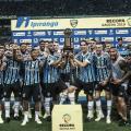 Em jogo válido por duas competições, Grêmio goleia Avenida e fica com Recopa Gaúcha