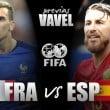 França e Espanha disputam amistoso com equipes modificadas e auxiliar de vídeo