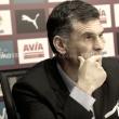 Mendilibar: ''El equipo no se conforma y quiere más''