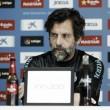 """Quique Sánchez Flores: """"Merece la pena mantener el instinto competitivo"""""""