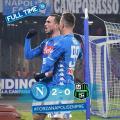 Coppa Italia - Il Napoli è ai quarti: Milik e Fabian Ruiz stendono il Sassuolo (2-0)