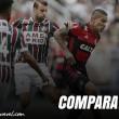 Assim como na última vez que decidiram o Carioca, Flamengo é favorito contra Fluminense