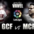 Granada CF - Málaga CF: derby con objetivos distintos