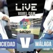 Anoeta reparte los puntos a la Real Sociedad y al Málaga