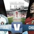 Portugal x Chile em directo online na Copa das Confederações 2017