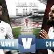 Alemania vs Chile EN VIVO en tiempo real en Copa Confederaciones 2017