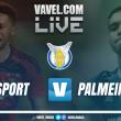 Sport x Palmeiras AO VIVO hoje no Campeonato Brasileiro 2017 (0-0)
