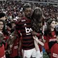 """Protagonista da final, Bruno Henrique ironiza: """"Três gols para valer dois, né?"""""""