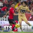Previa Atlas - Pumas: Por la primera victoria en casa