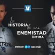 Hamilton y Rosberg: la historia de una enemistad íntima