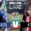 Cruz Azul vs Atlas en vivo online en Liga MX 2017 (0-0)