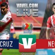 Partido Veracruz vs Necaxa EN VIVO en Liga MX 2017 (0-0)