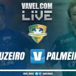 Jogo Cruzeiro x Palmeiras AO VIVO agora na Copa do Brasil (0-0)