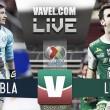 Puebla vs León en vivo online en Liga MX 2017 (0-0)