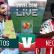 Santos vs Necaxa en vivo online en Liga MX 2017 (0-0)