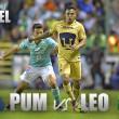 Previa Pumas - León: en busca de distintos objetivos