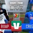 Lobos BUAP vs Cruz Azul en vivo online en Liga MX 2017 (2-0)