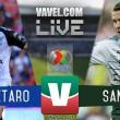 Querétaro vs Santos en vivo online en Liga MX 2017 (0-0)