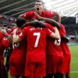 Premier League: il Liverpool ribalta lo Swansea