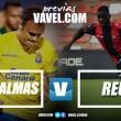 Previa Las Palmas - CF Reus: empieza el espectáculo de Segunda