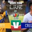 Resultado y Goles de Tigres (2-2) Cruz Azul 2018