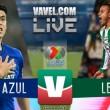 Cruz Azul vs León en vivo online en Liga MX 2018 (0-0)
