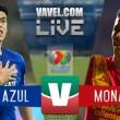 Resultado y goles del partido Cruz Azul 2-0 Monarcas Morelia en Liga MX 2018