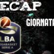Legabasket serie A: risultati e tabellini della quarta giornata