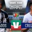 Monterrey vs Cruz Azul en vivo online en Liga MX 2018 (0-0)