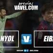 Previa Espanyol - Eibar: Cornellá, último tren hacia Europa