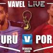 Resumen Uruguay vs Portugal en Mundial 2018 (2-1)