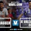 Previa Real Zaragoza - Real Valladolid: solo vale ganar