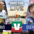 Resultado Pumas (0-1) Gallos Blancos en vivo online en Liga MX