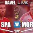 Espanha x Marrocos AO VIVO na Copa do Mundo 2018 (1-1)