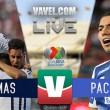 Resultado del Pumas vs Pachuca  en Liga MX 2018 (0-0)