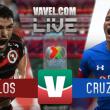 Resultado y goles del Tijuana 1-1 Cruz Azul de la Liga MX 2018