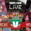 Resultado y goles del Monarcas vs Necaxa (2-1)