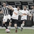 Corinthians e Santos protagonizam bom clássico, mas empatam sem gols em Itaquera