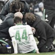 Bargfrede out for two months after meniscus tear