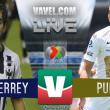 Resultado y goles del Monterrey 1-0 Pumas en Liga MX 2018