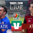 Cruz Azul vs Atlas en vivo online en Liga MX 2018 (0-0)