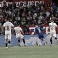 <div><br></div>Ever Banega, Carriço y Arana en el trofeo ante<span>Schalke 04 | Curro García (VAVEL.com)</span>