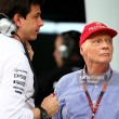 Toto Wolff and Niki Lauda extend Mercedes stay