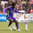 Wilfried Bony re-signs for Swansea City from Manchester City