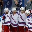 The New York Rangers Even The Series Behind Rick Nash's Two Goal Performance