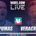 Resultado y resumen Pumas 0-0 Veracruz en Liga MX 2019