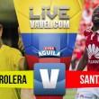 Alianza Petrolera vs Independiente Santa Fe en vivo y en directo online (0-0)