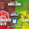 Previa Independiente Santa Fe vs. Leones: Duelo de felinos, donde los cardenales tienen que ganar