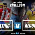 Previa Sporting de Gijón - AD Alcorcón: arranca la segunda vuelta